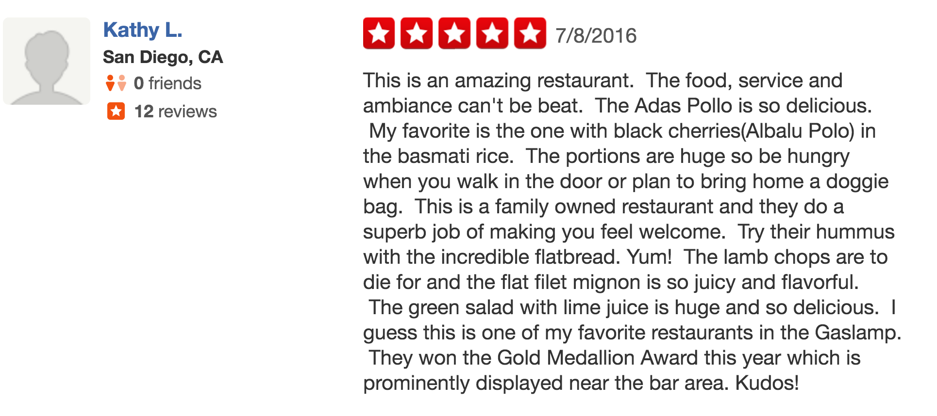 - Yelp Review 7-8-16